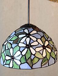25W Lampe suspendue ,  Tiffany / Vintage Peintures Fonctionnalité for Style mini Métal Chambre à coucher / Entrée