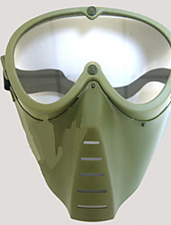 Combat Training Impact Green Fly Masks