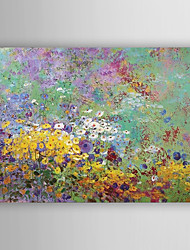 Oil Painting Decoration Flowers Hand Painted Canvas Painting with Stretched Framed Ready to Hang