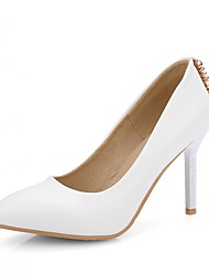 Damen-High Heels-Hochzeit / Büro / Kleid / Lässig / Party & Festivität-Kunststoff / Lackleder / Kunstleder-Stöckelabsatz-Absätze /