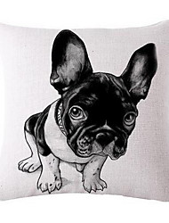 Continental Pillow Sofa Cushion French Bulldog Animal Print Pillow