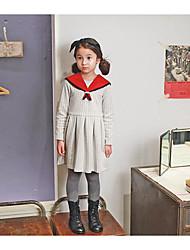 Mädchen Rock-Ausgehen Gestreift Baumwolle Frühling / Herbst Weiß