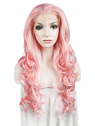 IMSTYLE 26Long Water Wave Synthetic  Lace Front Wigs