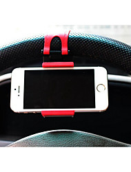 Vehicle mounted mobile phone support / vehicle steering wheel mobile phone support