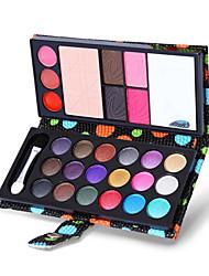 26 Palette de Fard à Paupières Sec Fard à paupières palette Poudre Echantillon Maquillage Quotidien