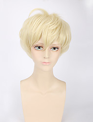 Fashion Short Wig Blonde Color Synthetic Cosplay African American Wigs