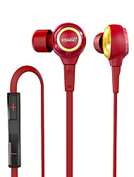 MARVEL Iron Man EP915 Hybrid Dynamic Balanced Armature IEMS High Performance Hifi Bass In Ear  Earphones with MIC