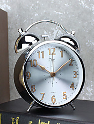 Alarm Clock with Matel CaseModern Style