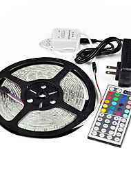 5m 44key ir 5050 smd rgb flexible 300 LED-Lichtleiste&entfernt& 5apower (12 V DC)