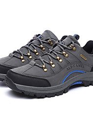 Women's Athletic Shoes Spring / Fall / Winter Closed Toe Suede Outdoor Flat Heel Lace-up Hiking