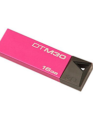 Kingston DTM30 Pen Drive 16GB USB 3.0 Mini Metal Stick Pendrive Flash Disk