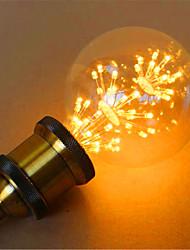 2 E26/E27 Bombillas LED de Globo G95 49 LED Dip 800 lm Amarillo Decorativa AC 100-240 V 1 pieza