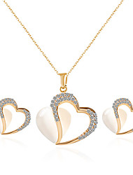 Wedding Necklace Earrings Jewelry Set