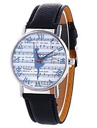 Women's Fashion Analog Stripe Ladies' Roman Numerals Christmas Display Strap Bohemia Quartz Wrist Watch