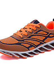 Men's Sneakers/ Fall / Winter Comfort Tulle Outdoor / Athletic / Running Lace-up Red / Gray / Orange Walking /