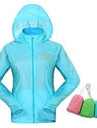 Randonnées Hauts/Tops Unisexe Respirable / Confortable / Ecran Solaire Printemps / Eté / Automne Polyester Vert L / XL / XXLCamping /
