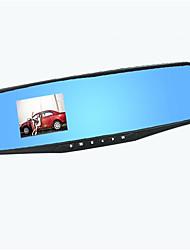 170 градусов широкоугольным 5 миллионов пикселей 2,8-дюймовый HD зеркало заднего вида вождения рекордер