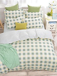 Bedtoppings Duvet Cover 4PCS Set With Prints
