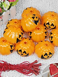 1pc ted decorazione forniture zucca halloween barra KTV scheletro fantasma della lampada di notte testa lanterne stringa