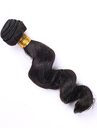 1pc 8-30 Brazilian Loose Wave Human Hair Weft Weave Unprocessed Hair Bundles Loose Curly Hair Extension