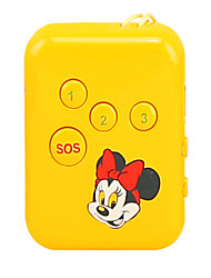 dist infantil GPS Locator mini-anti perdeu anti perdeu rastreador via anti-roubo