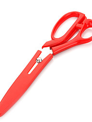 1PC Stainless Steel Multi-Functional Kitchen Scissors  Random Color