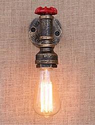 AC 220v-240v 40w e27 bg805 ностальгия простая вода труба декоративные небольшой настенный светильник настенный светильник