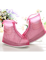 Unisex Boots Fall Rain Boots Synthetic Outdoor / Casual Flat Heel Others Pink / Royal Blue Others