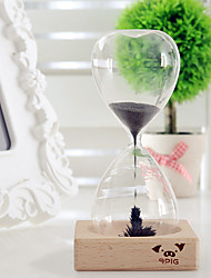 Magnet Flower Bloom Hourglass IQ Training Beautiful Decoration Toy - TRANSPARENT