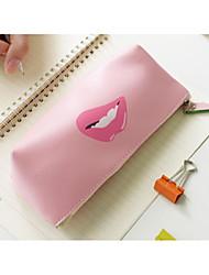 pequeno saco puro e fresco e uma caneta