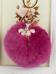 Sweet Angel Diamond Car Key Ball Key Chain Pendant