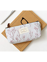 Small Pure And Fresh And Contracted Girls Canvas Lovely Pencil Box
