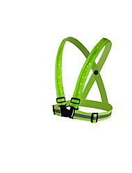 Note - Green Lattice LED Reflective Safety Clothing