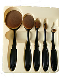 5 Brush Foundation/Blush/Eye Shadow/Concealer Professional