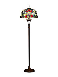 Tiffany Floor Lamp with 3 Lights