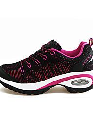 Фиолетовый Красный Темно-красный-Женский-Повседневный-Ткань-На плоской подошве-Удобная обувь-Спортивная обувь