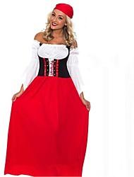 Cosplay Kostüme Rot / Blau Terylen Cosplay Accessoires Halloween / Karneval