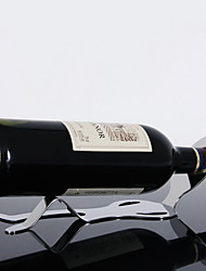 Lazy Man Lying Idler Guy Stainless Steel Wine Rack Whisky Bottle Holder Beer Bar Storage Organizer