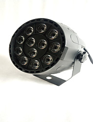 RGBW DMX  12 Led  Business Stage Lights Flat Par High Power Light Professional for Party KTV Disco DJ EU