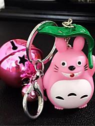 bonito chaveiro Totoro boneca brilhante pingente boneca