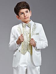 Cotton / Polester/Cotton Blend Ring Bearer Suit - Six-piece Suit