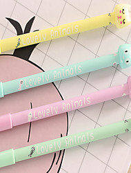 Lovely Candy-Colored Cat Gel Ink Pen (0.38mm A Box Of 12)