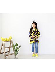 Girl's Print Suit & BlazerCotton Winter / Fall Yellow