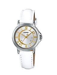 Mulheres Relógio de Moda Quartzo Impermeável Couro Banda Casual Luxuoso Branco Branco
