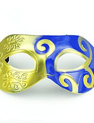 (Cor aleatória) 1pc dia das bruxas ornamentos festival máscara