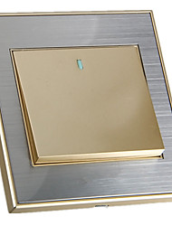 Champagne Gold Wall Switch Socket