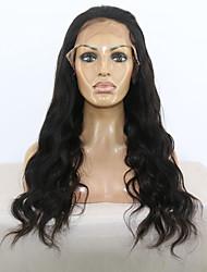 Hot selling!!! Brazilian Virgin Human Hair Long Body Wave Full Lace and Lace Front Wig with Baby Hair