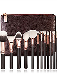 15Contour Brush / Makeup Brushes Set / Blush Brush / Eyeshadow Brush / Lip Brush / Brow Brush / Concealer Brush / Fan Brush / Powder