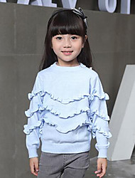 Girl's Casual/Daily Striped Sweater & CardiganWool Winter / Spring / Fall Blue / White / Gray
