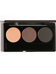 FOCALLURE 3 Colors Eye Brow Powder Palette